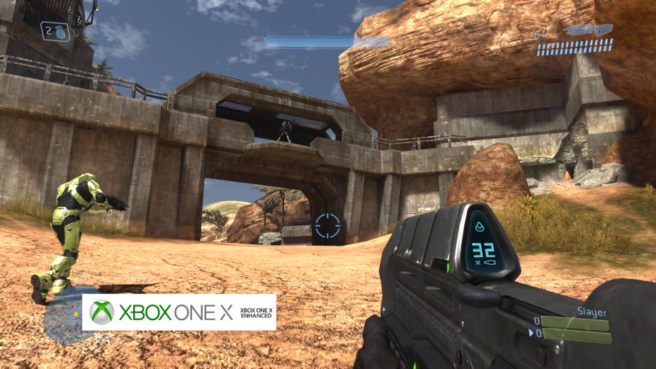 Halo 3, High Ground - Graphics Comparison: Xbox 360 vs  Xbox One X