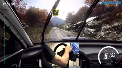 Dirt Rally 2.0 - Mud Gameplay with Wheel & Pedals