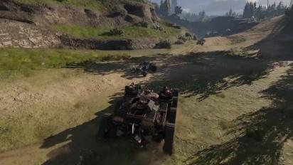 Crossout - Doomsday Cars Trailer