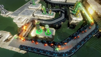 Defense Grid 2 - Sequence 2: Fixed Path Tower Placement