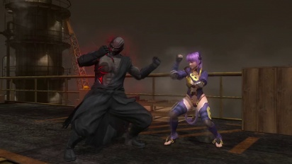 Dead or Alive 5: Last Round - Raidou Vs Ayane Trailer