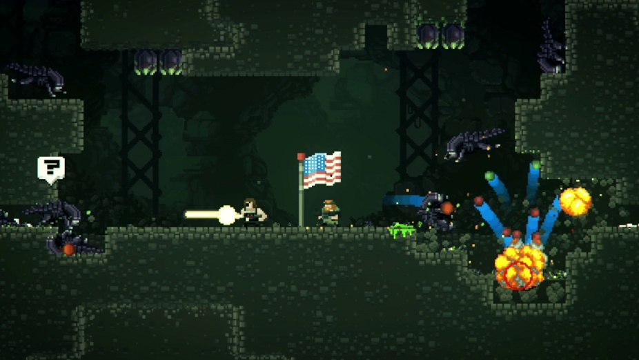 broforce alien infestation