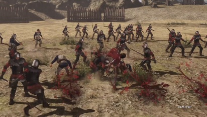 Berserk and the Band of the Hawk - Casca Character Trailer