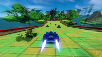 Sonic & All-Stars Racing Transformed - Ways to Play Trailer