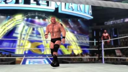 WWE 12 - Brock Lesnar Trailer