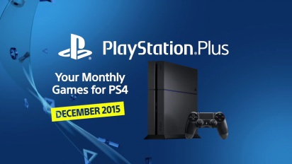 PlayStation Plus | PS4 monthly games for December 2015