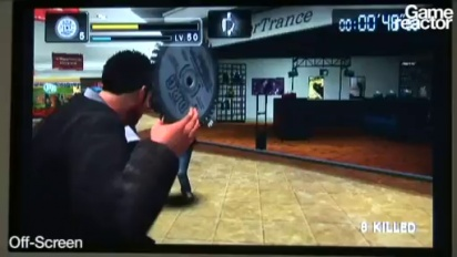 TGS08: Dead Rising Wii Gameplay (18+)