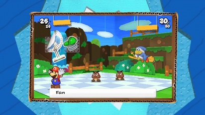 Paper Mario: Sticker Star - October trailer