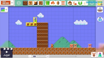 Super Mario Maker - Creation of a Level: Shell-Service (Super Mario Bros.)