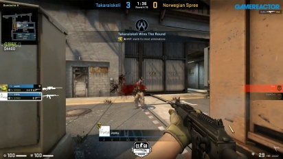 HyperX League 2v2 - Takaraiskeli vs Norwegian Spree on Train