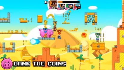Mega Coin Squad - Xbox Gameplay Trailer