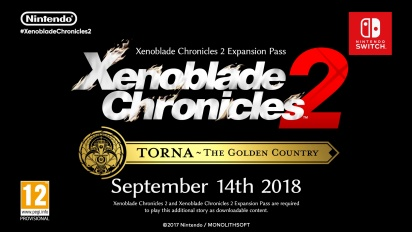 Xenoblade Chroncles 2: Torna - The Golden Country - Reveal Trailer