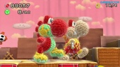 Yoshi's Woolly World - World 1 Co-op Gameplay (1-7, 1-6)