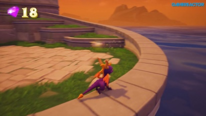 Spyro Reignited Trilogy - Town Square Gameplay (PC)