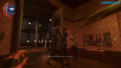 Dishonored 2 - Gameplay PC - Corvo saving Solokov - Clockwork Mansion