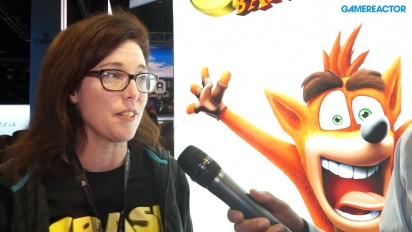 Crash Bandicoot: Nsane Trilogy - Kara Massey Interview