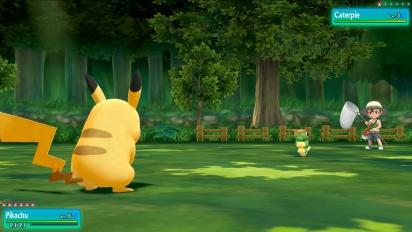 Pokémon: Let's Go Pikachu!/Let's Go Eevee! - E3 Gameplay