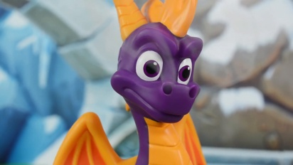 Official Spyro the Dragon Incense Burner Figure
