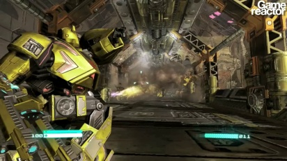 Transformers: Fall of Cybertron - first 10 minutes gameplay