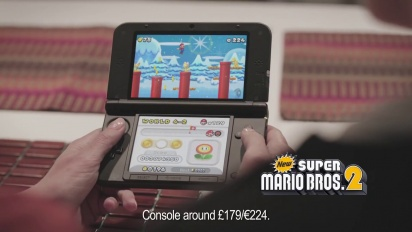 New Super Mario Bros. 2 - Christmas TV Ad