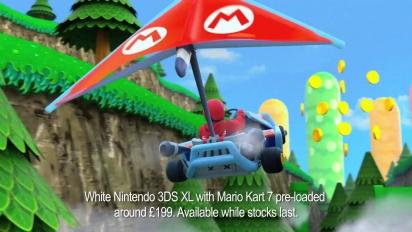 Mario Kart 7 - Christmas Gift TV Ad