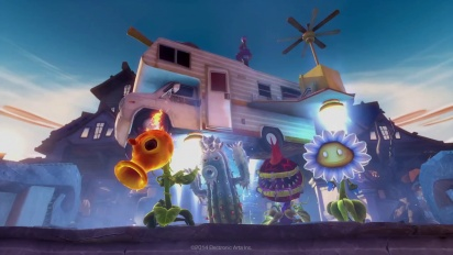 Plants vs. Zombies: Garden Warfare - Chum Rush Trailer