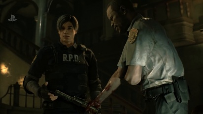 Resident Evil 2 - PS4 Gameplay Demo E3