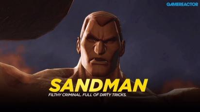 Marvel Ultimate Alliance 3: The Black Order - Fighting Sandman Gameplay