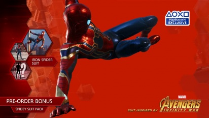Spider-Man - Iron Spider Suit Trailer