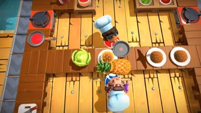 Overcooked 2 - Surf 'n' Turf Launch Trailer