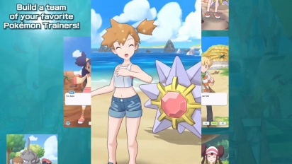 Pokémon Masters - Feature Trailer