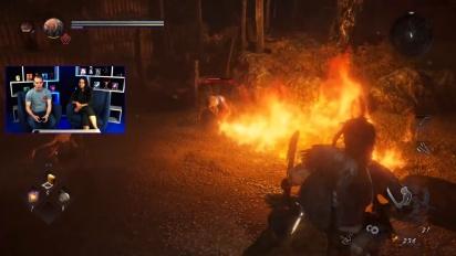 Nioh 2 - PlayStation Access - Kasha Boss Fight Gameplay