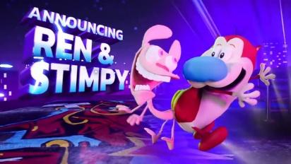 Nickelodeon All-Star Brawl - Ren & Stimpy Reveal Trailer