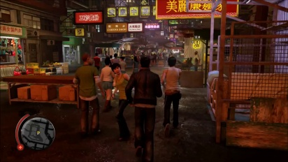 Sleeping Dogs - Definitive Edition Gameplay: Nightmarket Combat