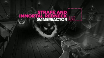 LIVESTREAM REPLAY - STRAFE & IMMORTAL REDNECK