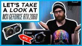 MSI GeForce RTX 2060 GAMING Z 6G - Quick Look