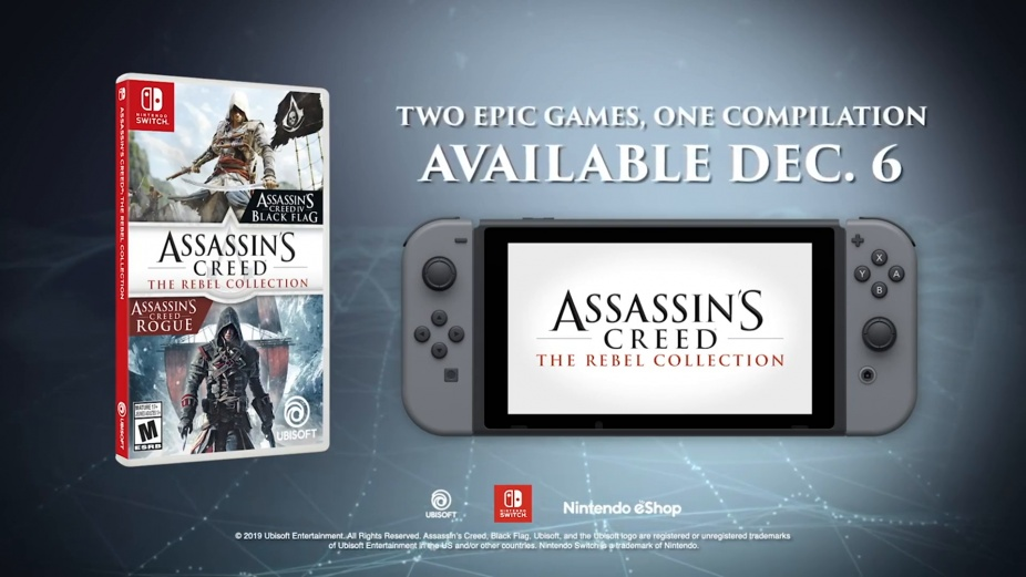 Assassin S Creed The Rebel Collection Switch Announce Trailer
