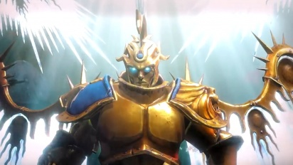 Warhammer: Age of Sigmar: Storm Ground - Stormcast Eternals Faction Trailer