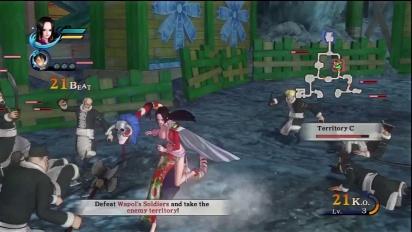 One Piece: Pirate Warriors -  Boa & Kimono DLC #2 Trailer