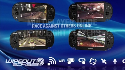 Wipeout 2048 - PS Vita Trailer