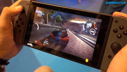 Gear Club Unlimited - Nintendo Switch off-screen Gameplay