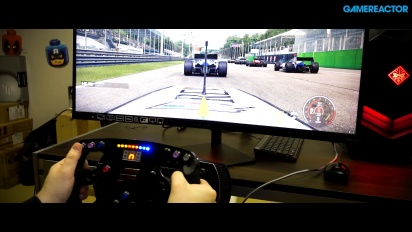 Project CARS 2 X HP OMEN X Fanatec Racing Wheel - Ultrawide Driving