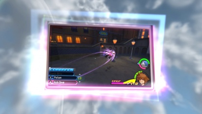 Kingdom Hearts 3D: Dream Drop Distance - A new gameplay Trailer