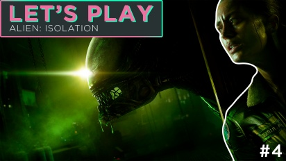 Let's Play Alien: Isolation - Episode 4