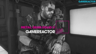 Metal Gear Solid V: The Phantom Pain - Livestream Replay Part 1