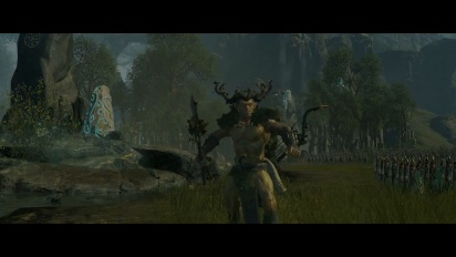 Total War Warhammer - Realm of the Wood Elves Gameplay Trailer
