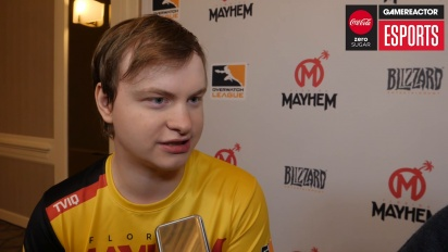 Overwatch League – Kevin 'TviQ' Lindström (Florida Mayhem) Interview