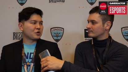 Overwatch League – Beoum-jun 'Bishop' Lee (London Spitfire) Interview