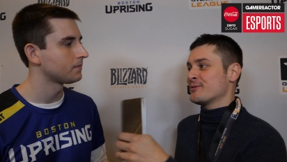 Overwatch League – Connor Prince (Boston Uprising) Interview