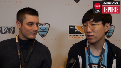 Overwatch League – Jae-hee 'Gesture' Hong (London Spitfire) Interview